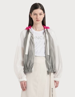 Moncler Lightweight Nylon Jacket With Removable Hood