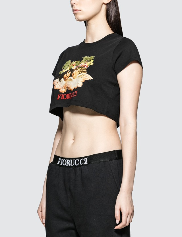 Fiorucci Andrea Fruit Angel Crop T-shirt