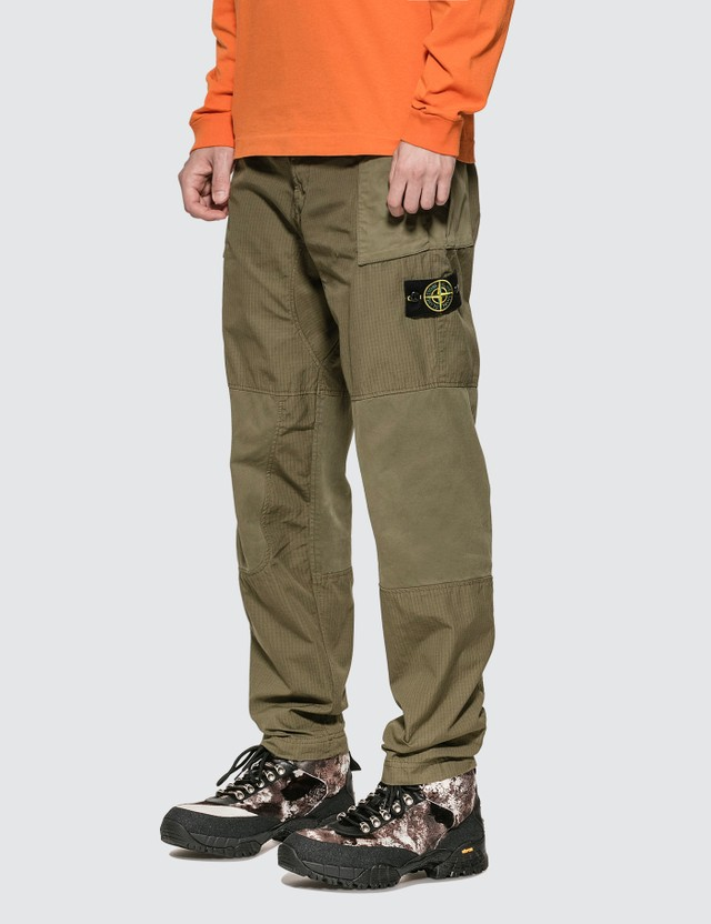 Stone Island Ripstop Regular Fit Cargo Pants