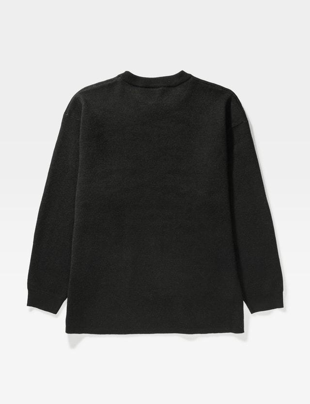 Pleasures Utero Jacquard Knitwear Black Men