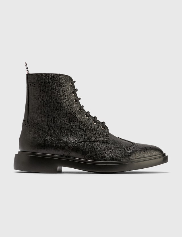 Thom Browne Classic Wingtip Boots