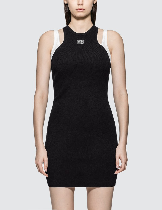 Alexander Wang.T Foundation Bodycon Layering Dress
