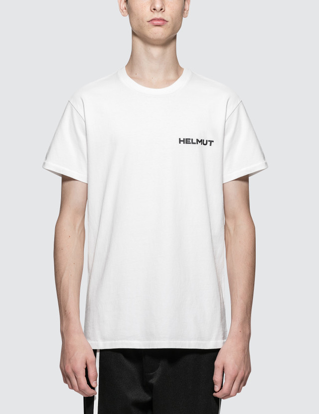 Helmut Lang In Lang We Trust Print S/S T-Shirt