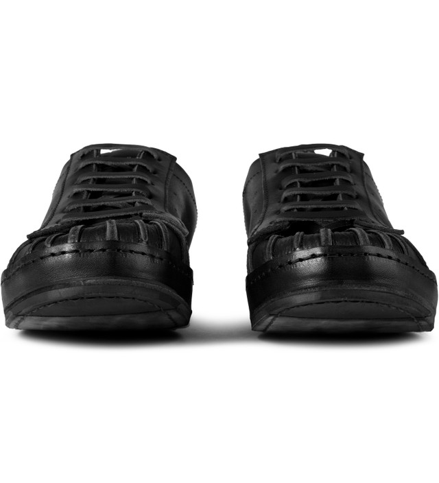 Hender Scheme Black Manual Industrial Products 02 Shoes