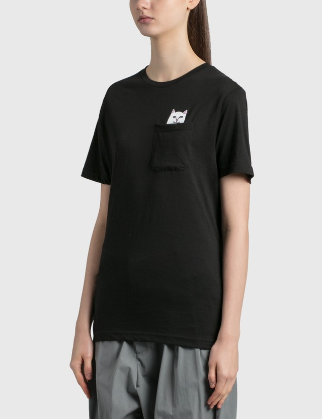 RIPNDIP Lord Nermal Pocket T-Shirt Black Women
