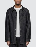 Bottega Veneta Oversized Denim Shirt Picture