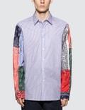 Loewe Bandana Sleeve Stripe Shirt Picutre
