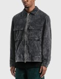 Victoria Bedford Corduroy Garage Jacket Faded Black Men