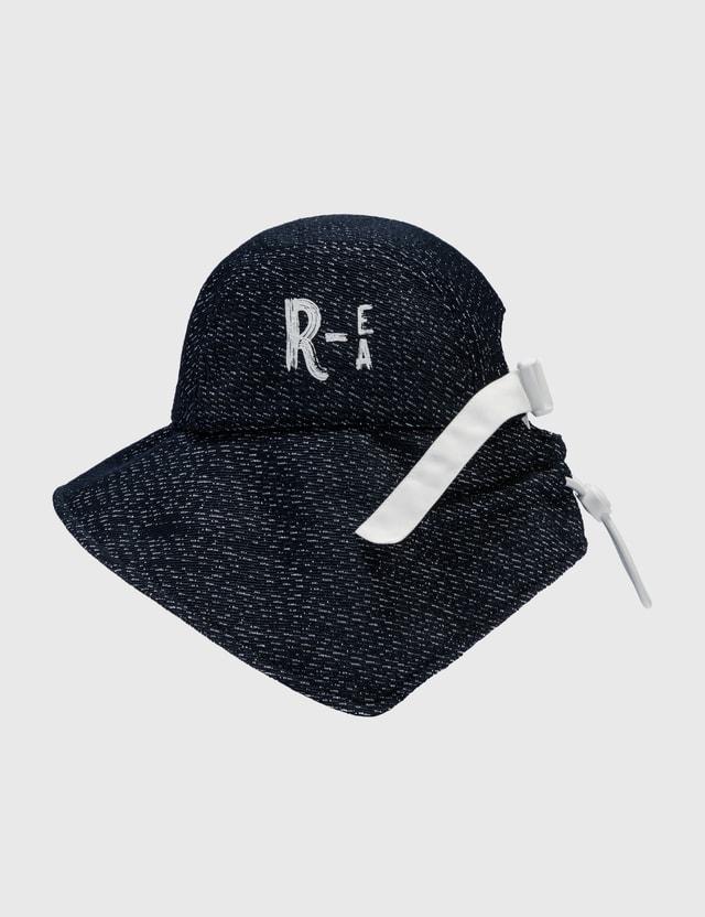 Emporio Armani Fabric Safari Hat Blu Men