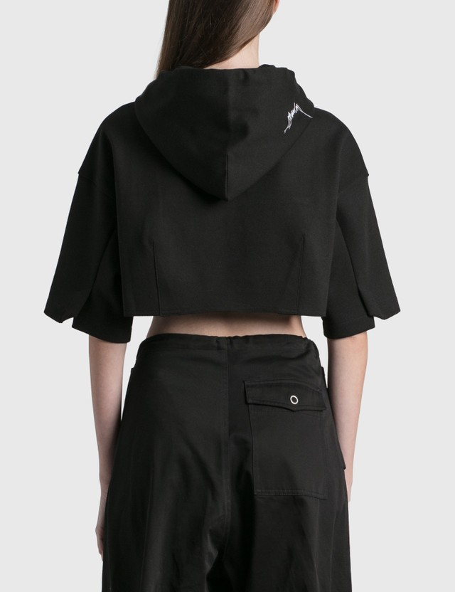 Ader Error Cropped Hoodie Black (black) Women