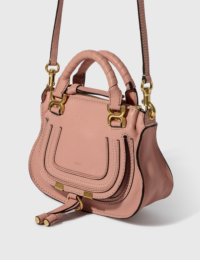 Chloé Mini Marcie Handbag Pink Women
