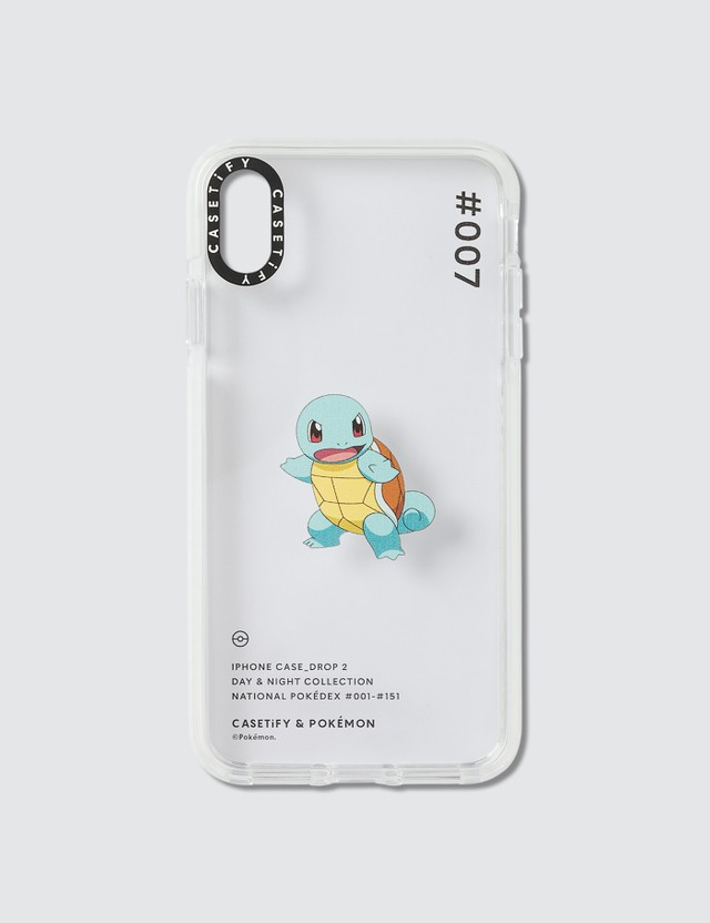 Casetify Squirtle 007 Pokédex Day Iphone XS Max Case Clear Men