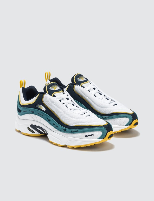 Reebok Daytona DMX Vector Sneaker White/navy/mist/yellow Men