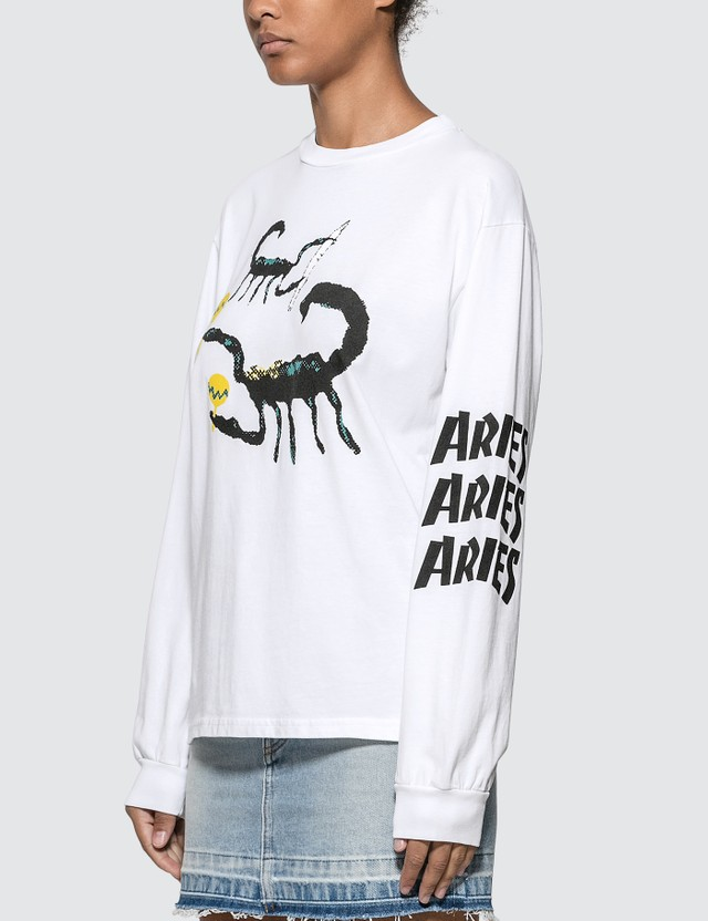 Aries Scorpion Long Sleeve T-shirt