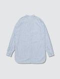 Fear of God Fear Of God Ssense Exclusive Blue Mandarin Oxford Shirt