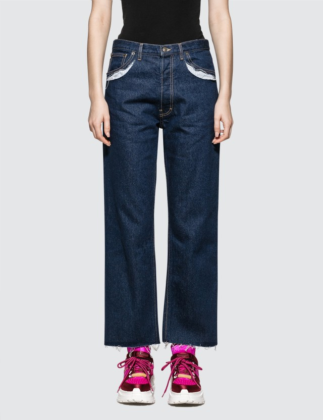 Maison Margiela Crafted Pocket Denim Jeans