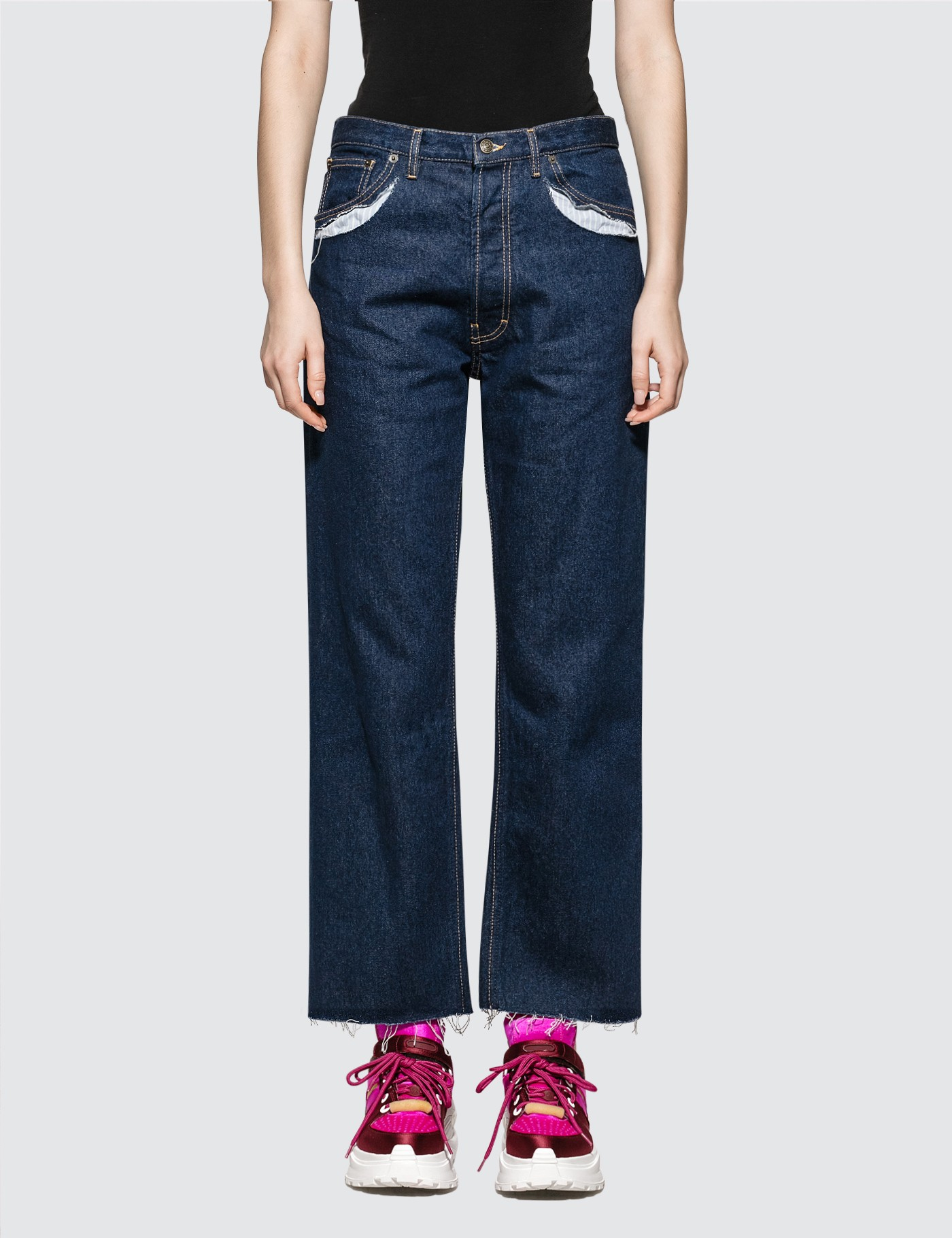 Maison Margiela Crafted Pocket Denim Jeans