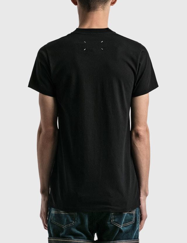 Maison Margiela Label T-shirt Black Men