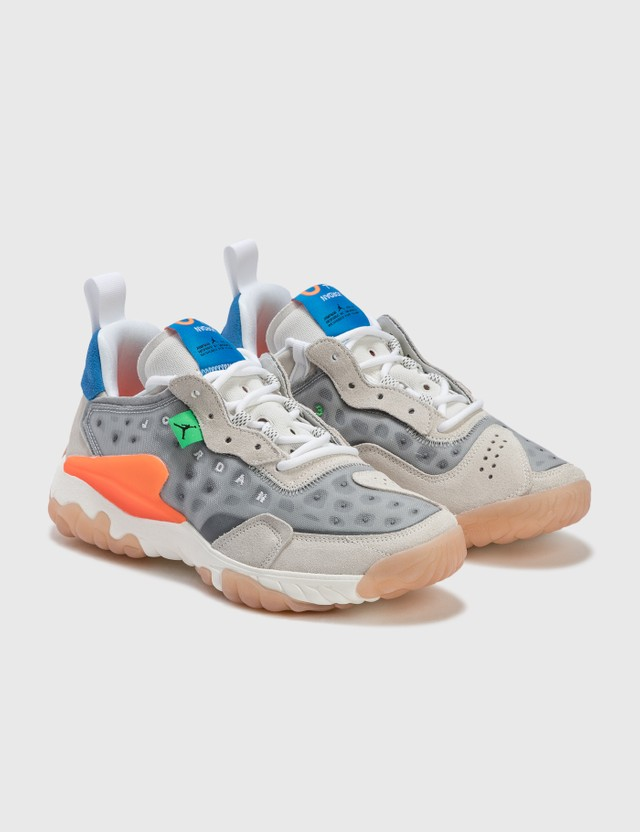 Nike Jordan Delta 2 Lt Smoke Grey/white-total Orange Men