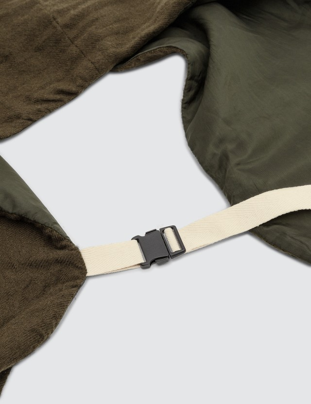 Sacai Shrivel Pocket Scarf Khaki Men