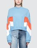 MSGM Sport Intarsia Sweatshirt Picture