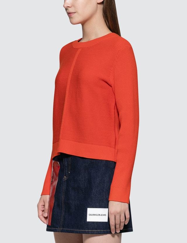 Calvin Klein Jeans A-cashmere Blend Crew Neck