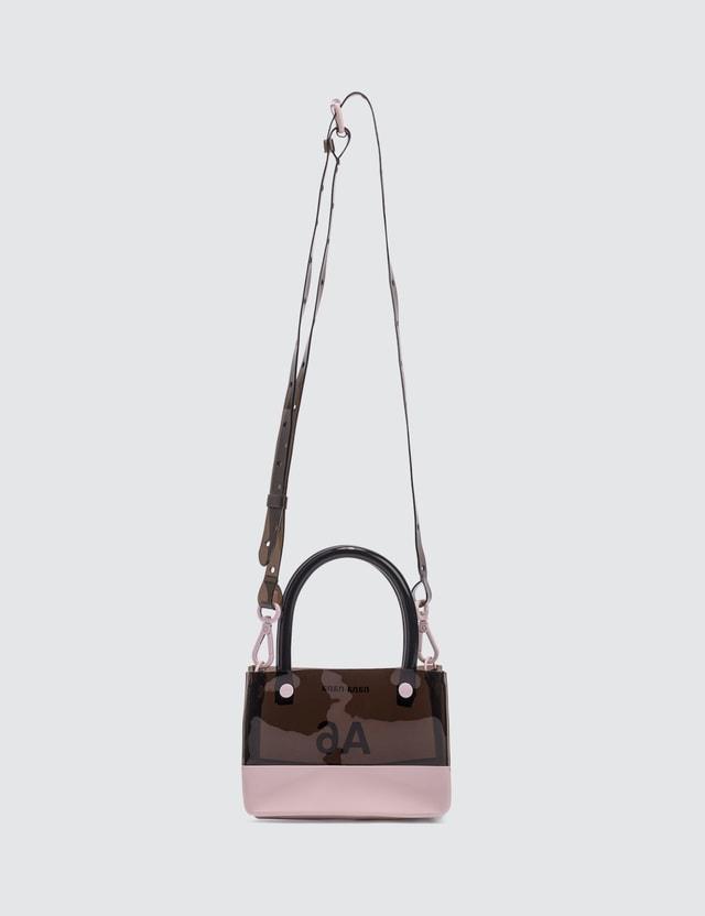 Nana-nana PVC x Opaque A6 Bag