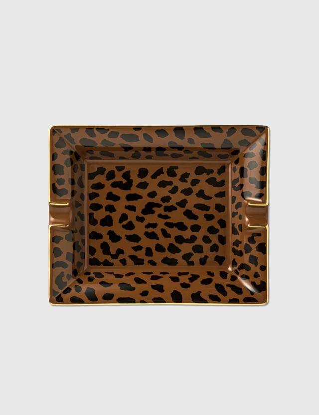 Wacko Maria Leopard Ashtray ( Type-2 ) Brown Men