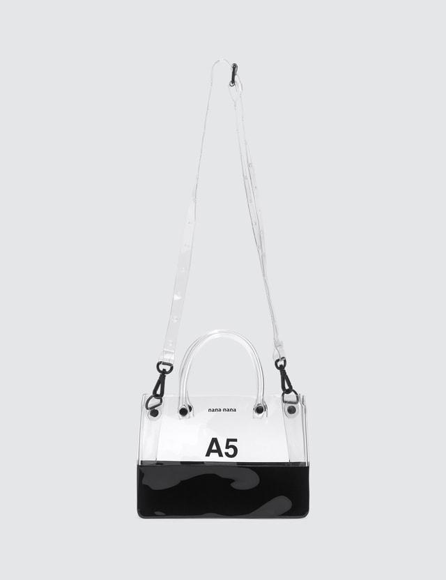 Nana-nana PVC x Opaque A5 Bag
