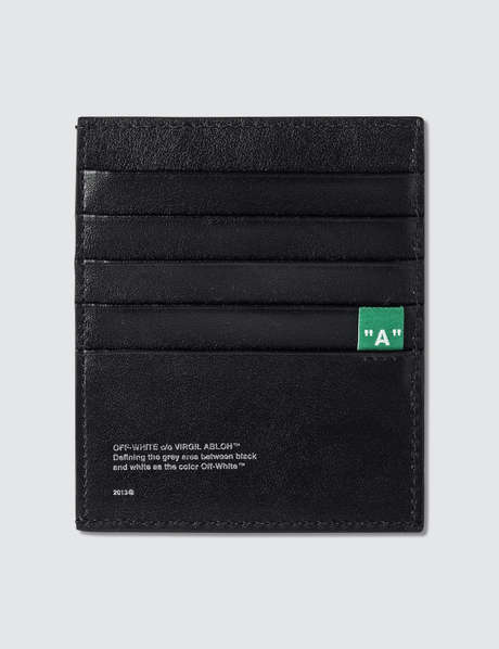 오프화이트 Off-White Diag Card Holder