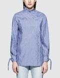 SJYP Stripe Button Blouse Picture