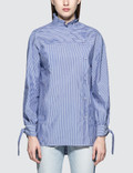 SJYP Stripe Button Blouse Picture