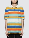 Have A Good Time Colorful Boarder Polo Shirt Picutre