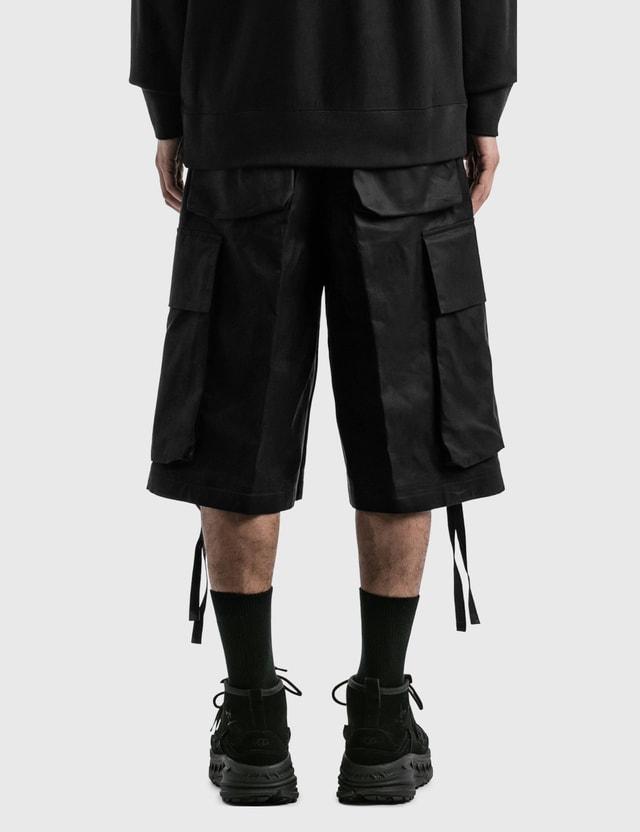 Moncler Genius 1952 Wide Cargo Shorts Black Men