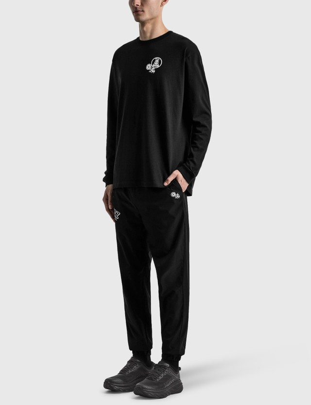 Kinjaz Vanquish X Kinjaz Long Sleeve T-shirt Black Men