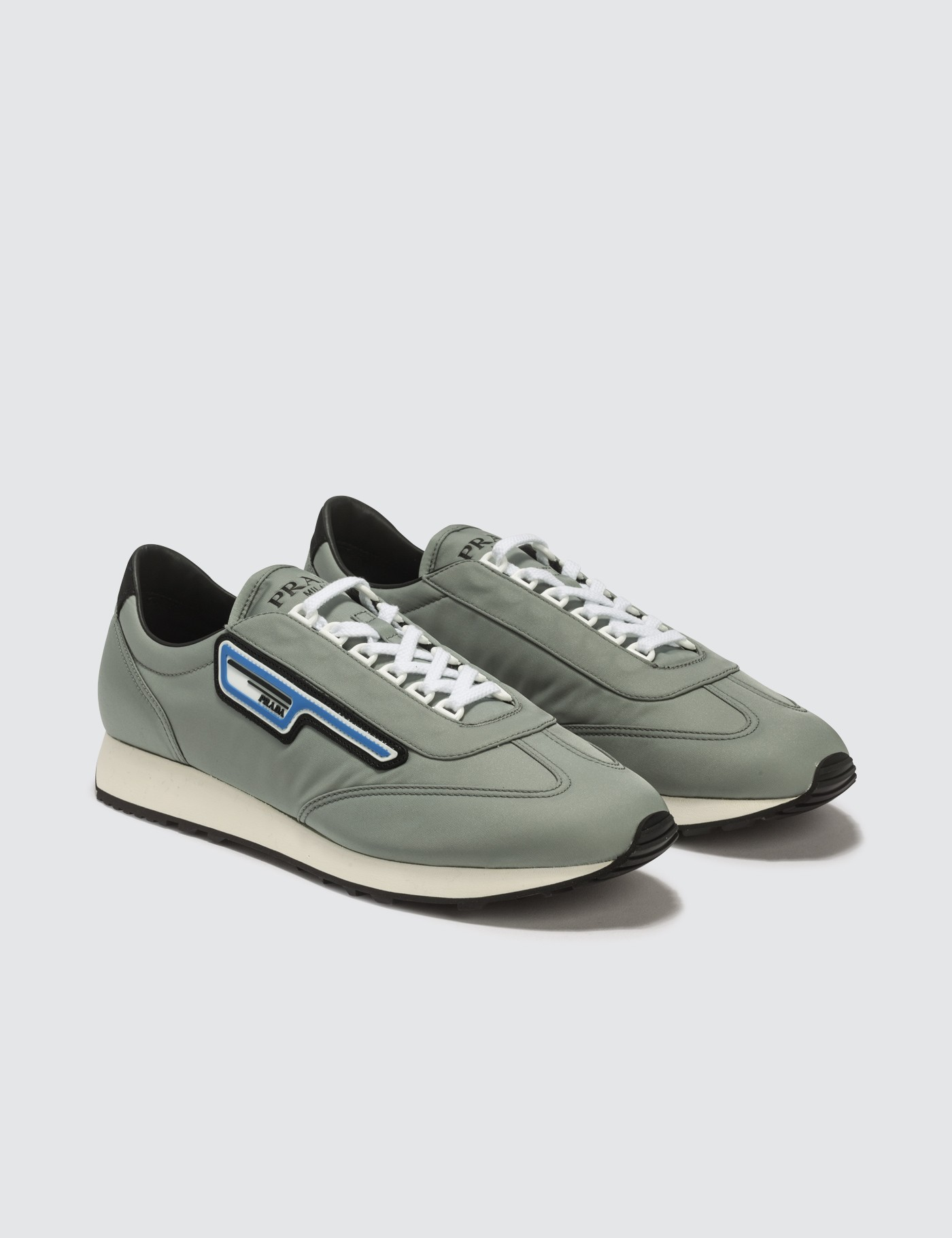Prada - Nylon Gabardine Sneaker   HBX