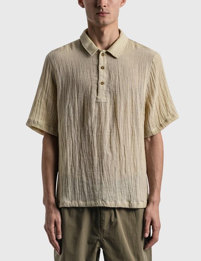 Satta Sabi Shirt Undyed Ecru Men