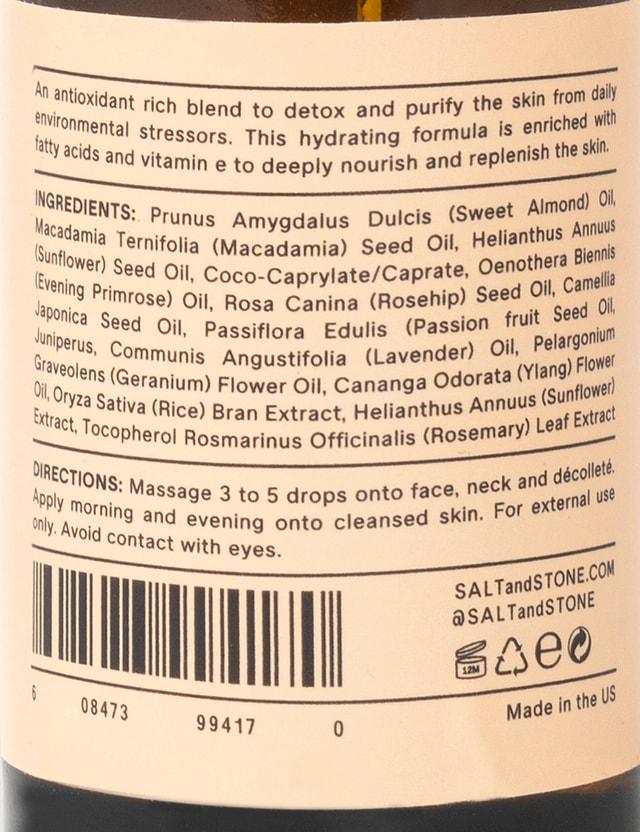 SALT & STONE SALT & STONE x Brain Dead Antioxidant Facial Oil Beige Unisex