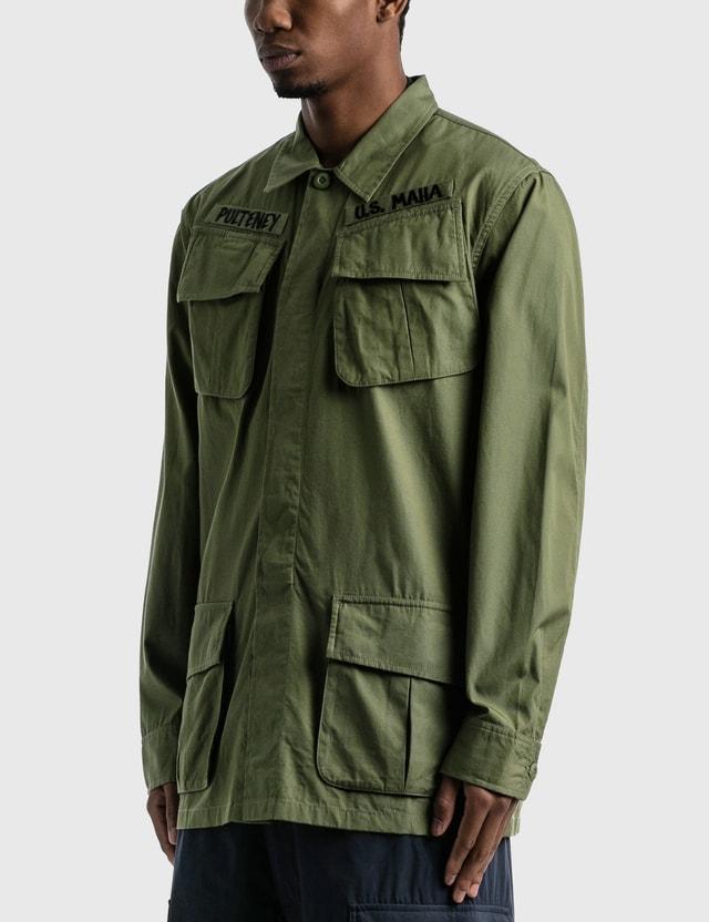 Maharishi Jungle Fatigue Overshirt Olive Men