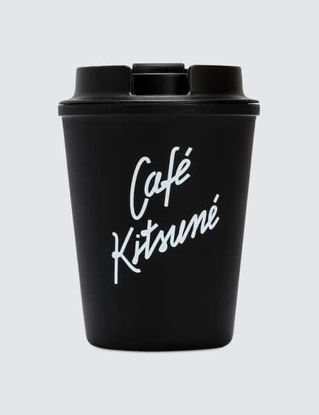 메종 키츠네 <카페 키츠네 컬렉션> 텀블러 블랙 Maison Kitsune Cafe Kitsune Coffee Tumbler
