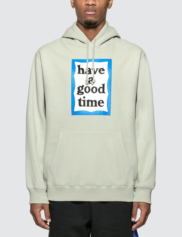 Have A Good Time Blue Frame Pullover Hoodie