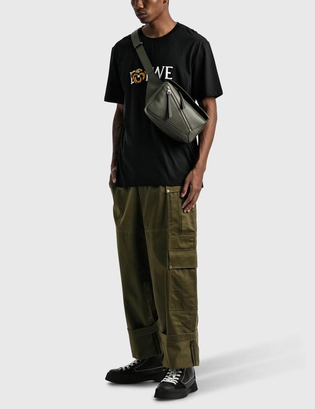 Loewe Pansy T-shirt Black Men