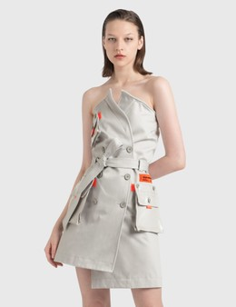 Heron Preston Trench Dress