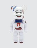 "Medicom Toy 400% Marshmallow Man ""Anger Face"" Be@rbrick Picture"