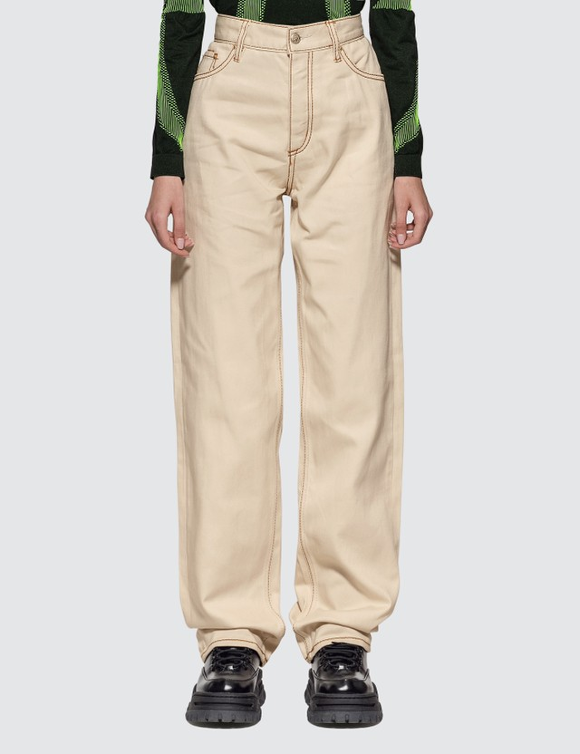 Eytys Benz Twill Ecru Jeans