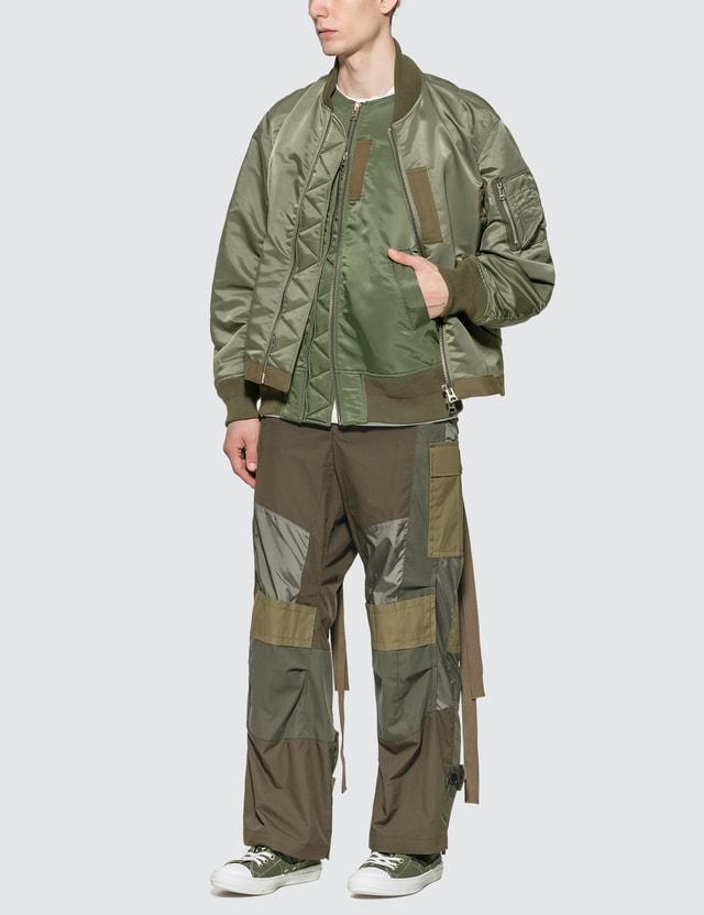 Sacai Fabric Combo MA-1 Blouson