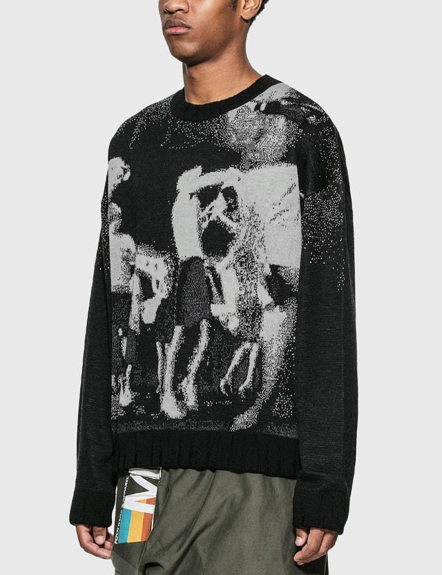 Misbhv Raver 스웨터