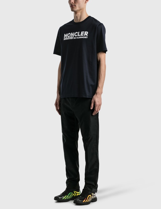 Moncler Logo T-shirt Navy Men