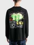 Brain Dead Dominant Life Forms Long Sleeve T-Shirt Black Men