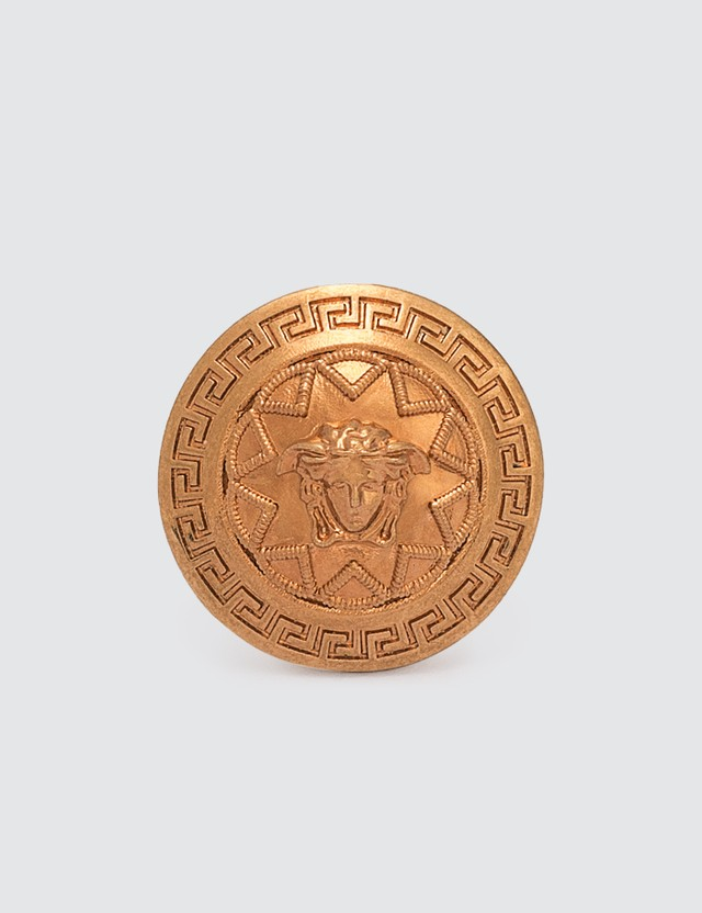 Versace Medusa Star Ring Oro Tribute Women